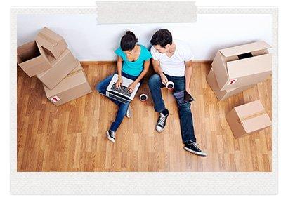 упаковка вещей, мебели, упаковочные материалы